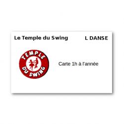 Carte 1h à l'année 2018/2019 - Cours de Lindy Hop Intermédiaire/Avancé à Paris Danse Studio Jeudi 21h-22h  (Année compl...