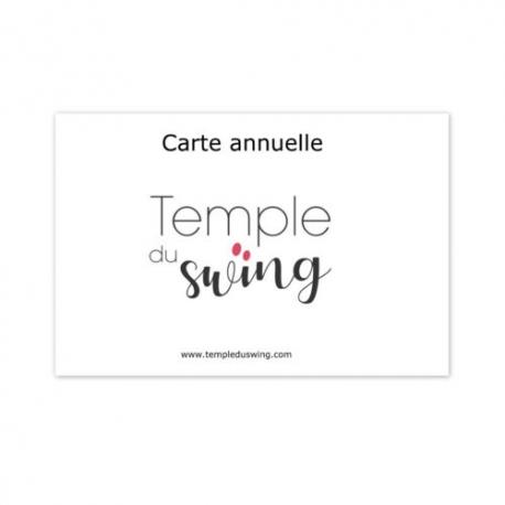 Carte 1h/semaine 2019/2020 - Cours de Bop ton Swing - à La Huchette Mardi 19h30-20h30  (1er trimestre)