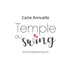 Carte 1h30/semaine/ année 2020/2021 - Cours de West Coast Swing Confirmé à Paris Jeudi 19h30 - 21h  (Année complète)