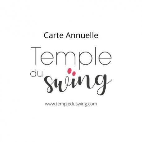 Carte 1h30/semaine/ année 2020/2021 - Cours de West Coast Swing Perfectionnement à Paris Jeudi 21h10 - 22h40  (Année compl...