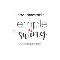 Carte Trimestrielle 2020/2021 - Cours de West Coast Swing Avancé à Paris Mercredi 21h - 22h  (1er trimestre)